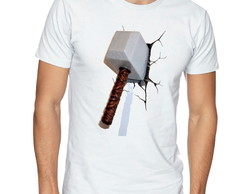 Camiseta Camisa Martelo do Thor Marvel -CS72