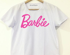 Baby look Branca - Barbie