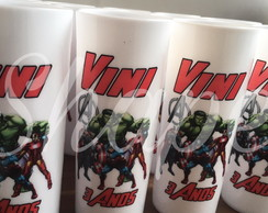 Long Drink Estampado Vingadores