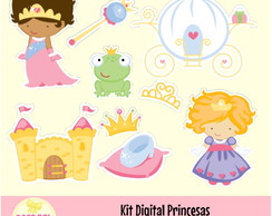 Kit Digital Princesas 10