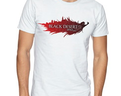 Camiseta Camisa Black Desert RPG -CS83