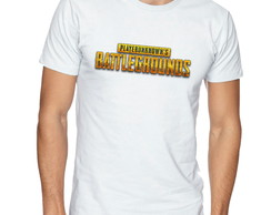 Camiseta Camisa Playerunknown's Battlegrounds Logo -CS93