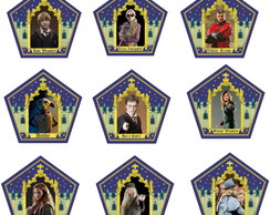 Cards Sapo de Chocolate Harry Potter