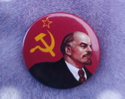 Boton Lenin- Broche, botton, botom, pin RJ