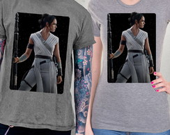 Camiseta Star Wars A Ascensão Skywalker Rey Blusa