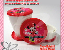 Copo Retrátil Minnie