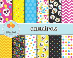 Papel Digital - Caveiras