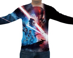 Camiseta Star Wars Ascensão Skywalker 03 - Manga Longa