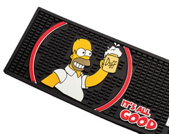 Bar Mat Duff Preto Simpsons
