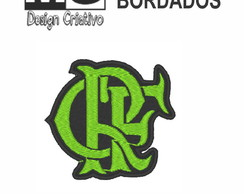 Patch Bordado Termo Colante - Escudo do Flamengo