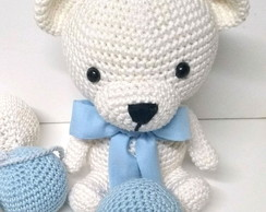 Urso amigurumi no Elo7   Fran Crochês Feito a mão (AF435D)   194x244