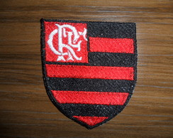 Patch Bordado Termocolante Flamengo