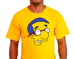 CAMISETA GEEK SIMPSON MILHOUSE