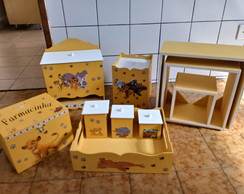 kit higiene de bebê A guarda do leão