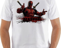 Camiseta Camisa Deadpool Marvel comics art-CS342