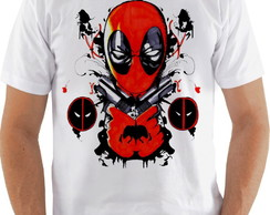 Camiseta Camisa Deadpool Art Marvel arma-CS344