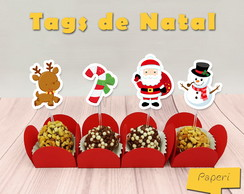 Tags de Natal-Arquivo Digital
