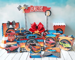 KIT FESTA PRONTA HOTWHEELS