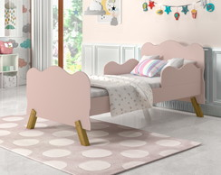 Mini Cama Infantil Angel, Rose