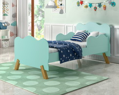 Mini Cama Infantil Angel, Menta