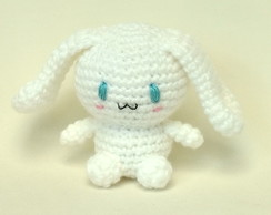 Cinnamoroll (Hello Kitty) amigurumi