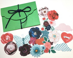Die cuts no envelope