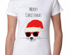 Camiseta Feminina Merry Christmas