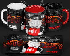 Caneca Colorida Mickey Star Wars - 3D