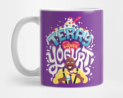 Caneca Terry Loves Yogurt Brooklyn Nine Nine