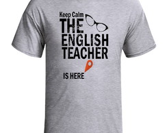 Camiseta e Babylook Professor de ingles english teacher