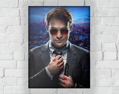 Placa Decorativa Demolidor - Matt Murdock - 15x20