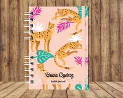 Bullet Journal - Leopardo