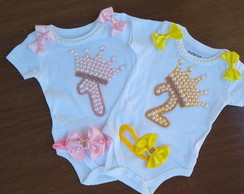 Kit 2 Body Infantil Mesversario