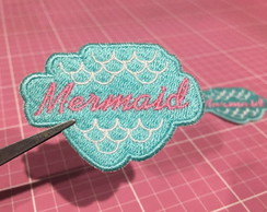 PATCH BORDADO SEREIA - MERMAID TERMOCOLANTE