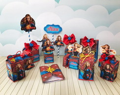 KIT CAPITÃ MARVEL ESPECIAL