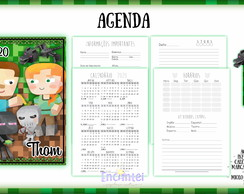 Agenda Fundamental Minecraft