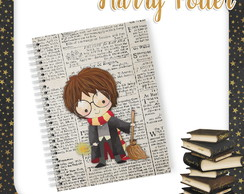Arquivo Digital Capa para Caderno/Agenda Harry Potter