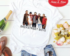 Camiseta Poliéster - Backstreet Boys