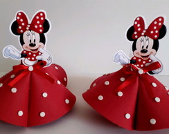 Tubetes Minnie Vermelha