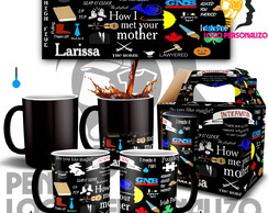 Caneca Mágica How I Met Your Mother Seriado Série com Nome