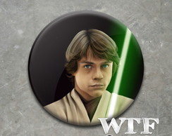 Botton ou Ímã Star Wars Luke Skywalker