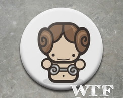 Botton Star Wars Leia Organa