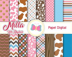 Kit Papel Digital Xerife Callie 1