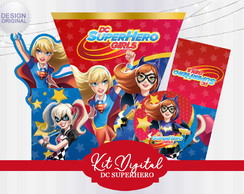 Kit Festa Digital SuperHero Girls