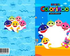 Livrinho De Colorir Baby Shark Elo7
