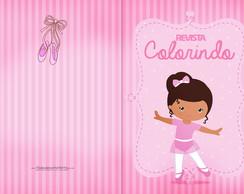 Bailarina Para Colorir Elo7