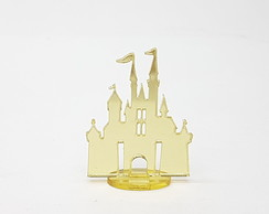 Aplique Castelo Disney com base 4cm