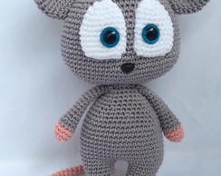 Amigurumi | Rato de crochê, Crochê bonito, Tricô e crochê | 194x244