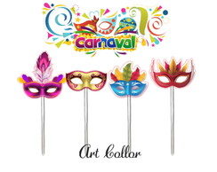 Topper para doces carnaval 2