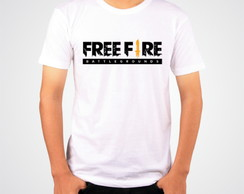 Camiseta Free Fire Camisa Gamer